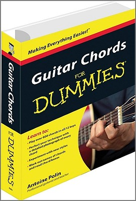 Guitar Chords for Dummies By Polin, Antoine